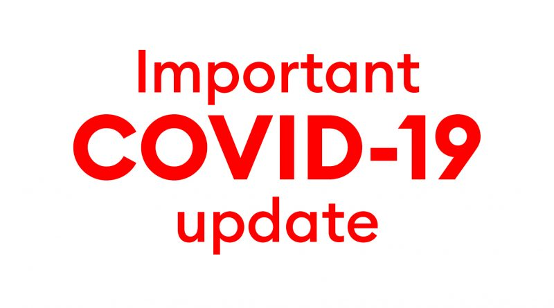 COVID-19:Latest advice and update 18/3