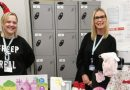 CHRISTMAS DONATIONS TO HARBOUR FROM STARS STAFF